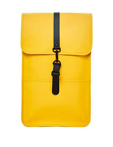 RAINS Backpack Mochila, Unisex Adulto, Yellow, Talla Única