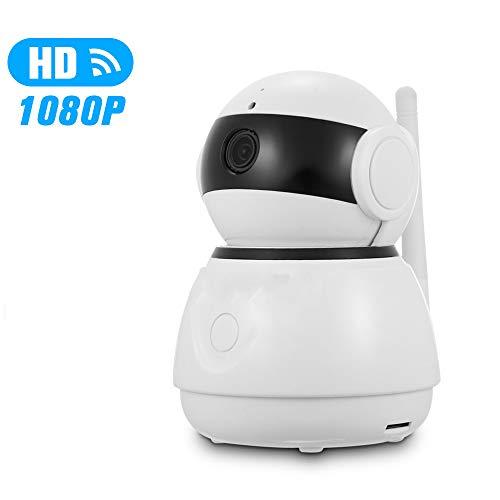 Lily WiFi IP-Überwachungskamera, 1080P HD Indoor Wireless Nachtsicht-Kamera, Mit Bewegungserkennung Und Multi-Plattform-Uhr, Für Baby/Elder/Tier/Nanny-Monitor