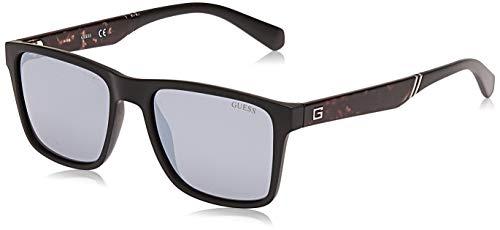 Guess Gu6928 02c 56 Monturas de gafas, Negro (Negro OpacoFumo Specchiato), 56.0 Unisex Adulto