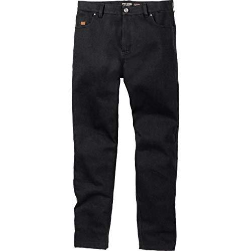 Spirit Motors Pantalones vaqueros para motocicleta, pantalones de moto City Jeans LT 1.0, para hombre, chopper/cruiser, todo el año, poliéster Negro 34/42