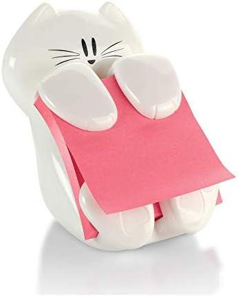 Post-it Pop-up Note Dispenser, Cat design, 3×3 in, 1 Dispenser/Pack (CAT-330)