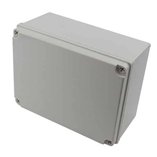 "Ogrmar Plastic Dustproof IP65 Junction Box DIY Case Enclosure (8""x 6""x 4"")"