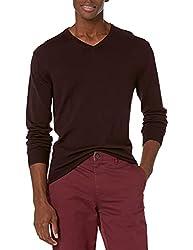 Amazon Brand - Goodthreads Men's Merino Wool V-Neck Sweater: Amazon.ca: Vêtements et accessoires