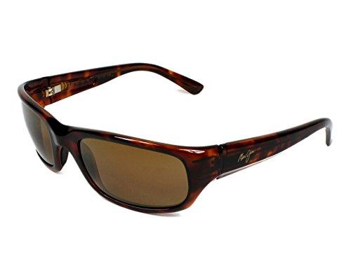 Maui Jim Pastinaca gafas de sol w/Polarized Bronce lente MJ103-10 hombre Tortuga Grande