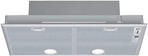 Bosch Serie 4 DHL755BL - Campana (610 m³/h, Canalizado/Recirculación, D, A, C, 38 dB)