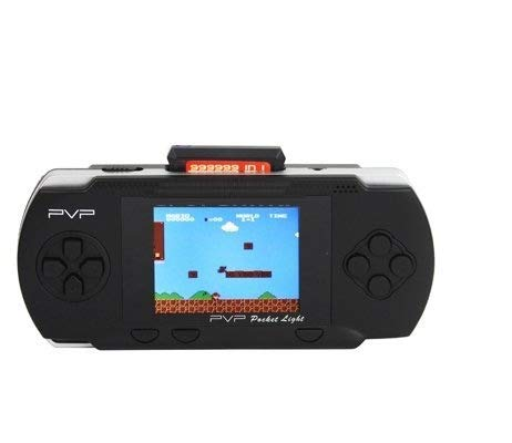 FTS PARFACT EYE PVP Station Kid's LCD Display Pocket Game Console with Card (Black)