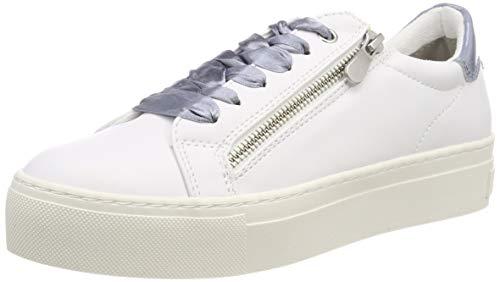 MARCO TOZZI Damen 2-2-23723-32 Sneaker, Weiß (White Comb 197), 39 EU