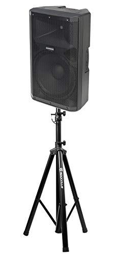 """Samson RS115A 15"""" 400w Powered Bi-Amped DJ PA Speaker w/Bluetooth/USB+Stand"""