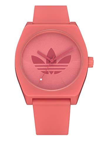 adidas Originals Watches Process_SP1 Silicone Strap, 20mm Width (34mm) - Trefoil/Still Orange