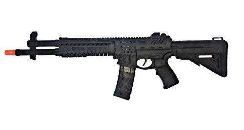R&T Fusil de Asalto Inspirado en el Que utilizan en la Serie La Casa de Papel. con Sonido. Medidas: 58x18x4 cms..Existen Variantes de cantidad. (1 Fusil)