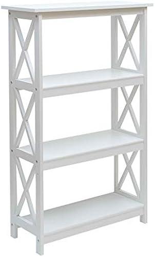Bücherregal Massivholz, Utility Storage Organizer Regal, Blaume Stand Dekor Anzeige Bodenst er, für Studie Schlafzimmer Wohnzimmer