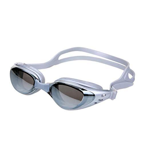 YYLSHCYHLI Gafas de natación Hombre Mujer Gafas de natación Gafas Hombres Anti Niebla Unisex Adulto Marco de natación Piscina Deporte Gafas Kh066H