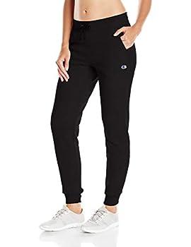 Champion womens Powerblend Jogger Sweatpants Black-m0937 X-Large US