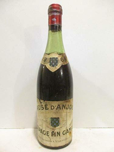 rosé d'anjou louis guindon gamay rosé 1964 - loire - anjou