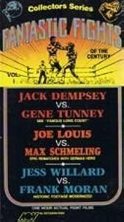 Fantastic Fights of the Century Vol.1 Jack Dempsey vs. Gene Tunney, Jou Louis vs. Max Schmeling  VHS