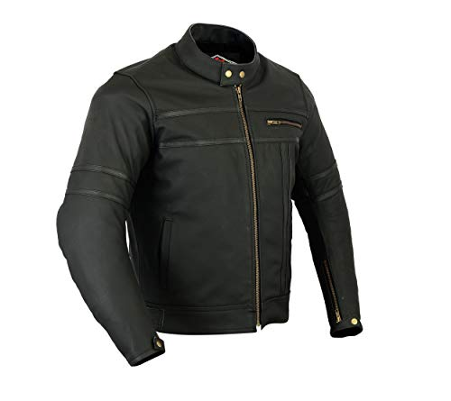 Texpeed Two Tone Leather Racing Jacket - 6