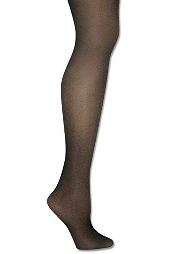 Donna Karan Hosiery Signature Ultra-Sheer Control Top Pantyhose, Plus Petite, Chocolate