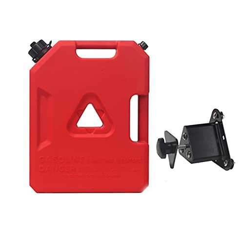 Recipientes para gasolina Contenedor de combustible, lata de gas, aceite, almacenamiento de gasolina, latas de repuesto, respaldo de emergencia, montaje de tanques de gasolina para motocicleta, todo