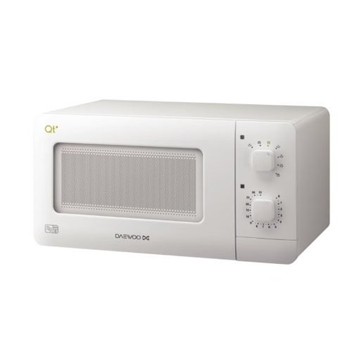 Daewoo Compact Microwave Oven, 14 L, 600 W - White