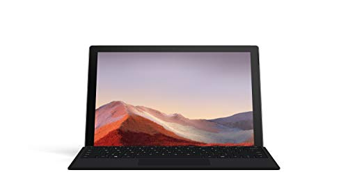 "NEW Microsoft Surface Pro 7 - 12.3"" Touch-Screen - 10th Gen Intel Core i5 - 8GB Memory - 128GB SSD (Latest Model) - Platinum with Black Type Cover"