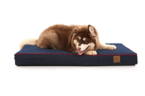 Laifug Orthopedic Memory Foam Dog Bed,Sofa-Style,Larger...