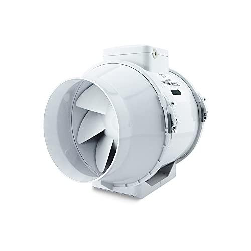 Extractor Tubular intercalar en conducto con Base MU-TT 100