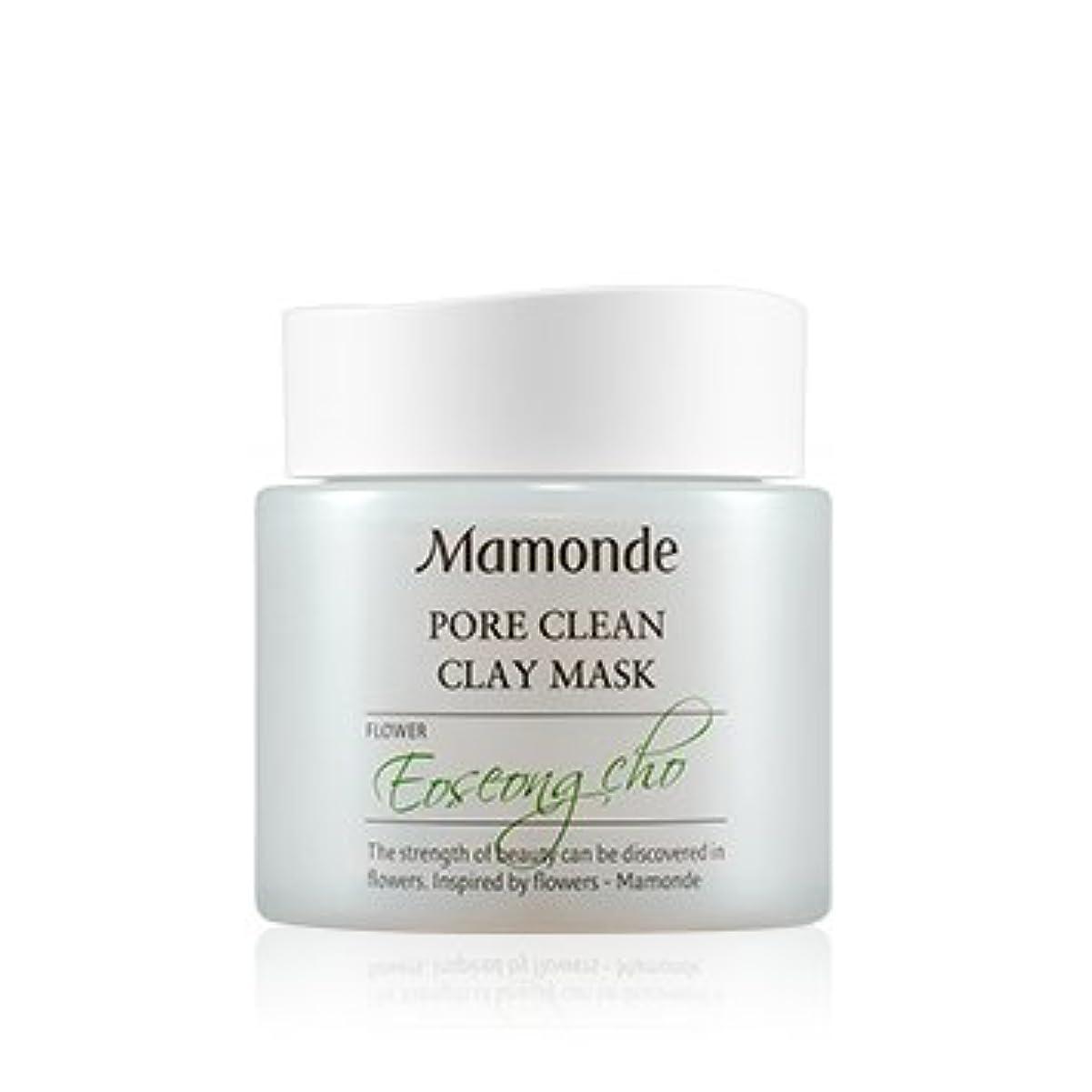 パスペニー韻[New] Mamonde Pore Clean Clay Mask 100ml/マモンド ポア クリーン クレイ マスク 100ml [並行輸入品]