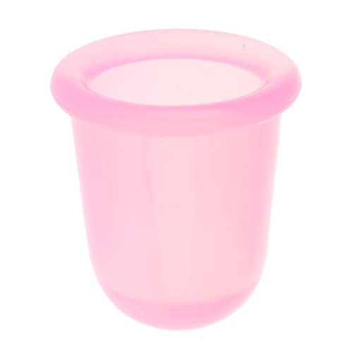 OEYFIEA Lot de 2 tasses de massage anti-cellulite en silicone pour le visage Rose Taille L