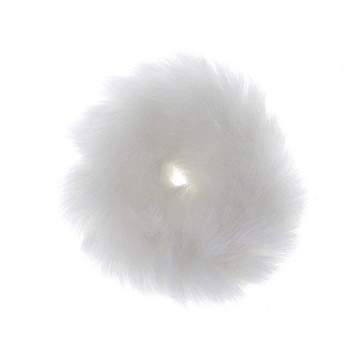 peng PENGGirl Haarband Kunstmatige Faux Bont Rubber Elastische Ring Touw Fluffy Tie Scrunchie