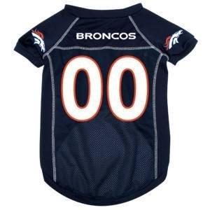 Denver Broncos NFL pet dog mesh football jersey XS 4-10 lbs