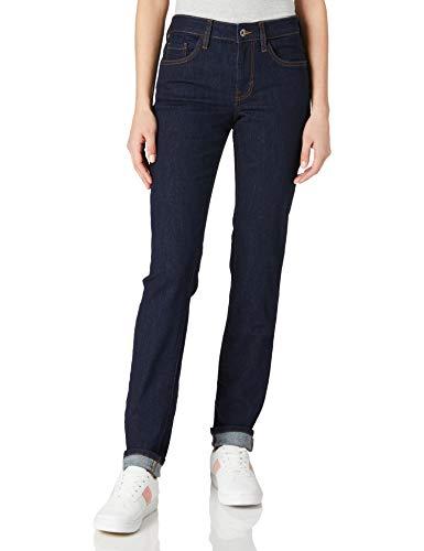 TOM TAILOR Damen 1024879 Alexa Slim Jeans, Blau (10115-Clean Rinsed Blue Denim), 28W / 32L