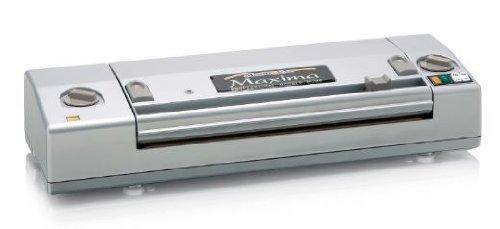 Magic Vac Maxima 800mbar Gris sellador al vacío - Envasadora al vacío (Gris, 800 mbar, 4 kg, 500 x 160 x 100 mm)