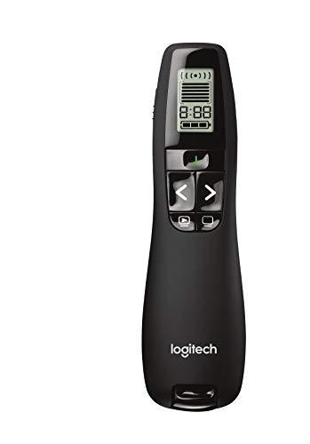 Logitech Professional Presenter R800, Presentation Wireless Presenter with Laser Pointer Green