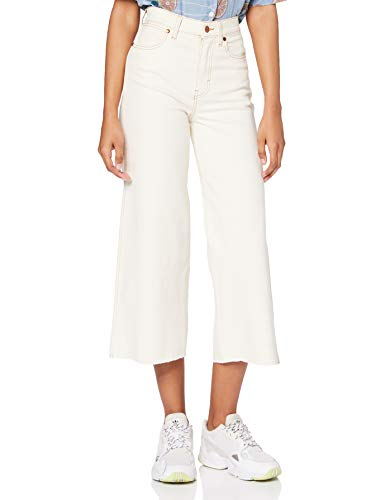 Wrangler World Wide Cropped Jeans, Madera de algodón, 31 para Mujer