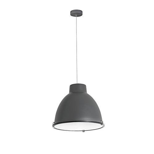 Faro Barcelona 68562 CHARLOTTE Lampe suspension gris foncé