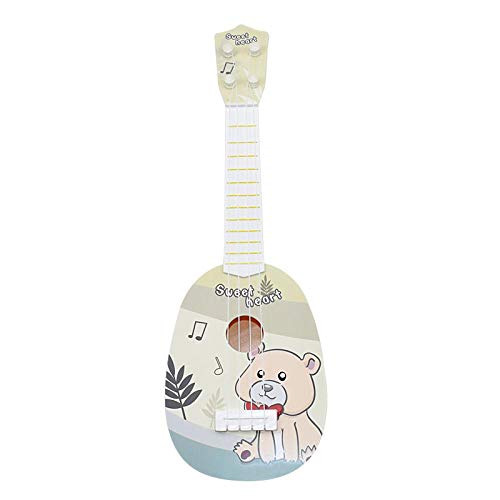 Ukulélé ZWRY Ukulélé 4 cordes Ukelele pas cher Hawaii Minis Guitar Tone Candy color Bear