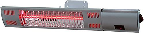 WXking Calentador de Patio montado en la Pared Calentador infrarrojo eléctrico Interior/al Aire Libre Calentador eléctrico para Garaje Patio Trasero Patio Calentador Impermeable con Control Remoto T
