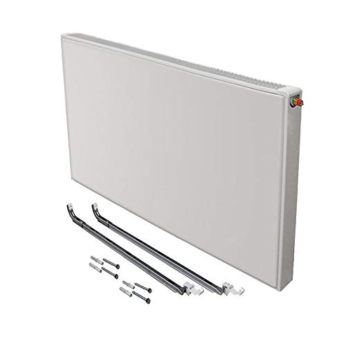 Buderus Logatrend ventiel radiator VC-Plan type 11 BH 900 vers. lengtes + houder. BL: 700 mm