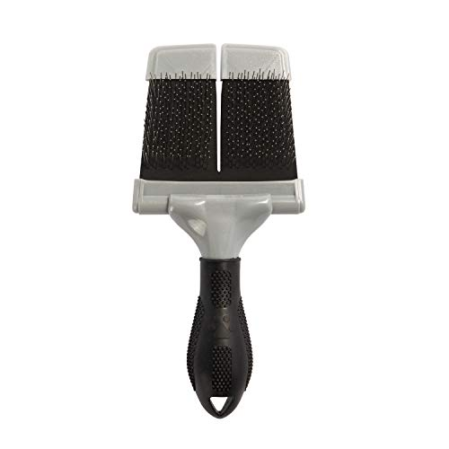 FURminator Soft Grooming Slicker Brush, Dog, Large
