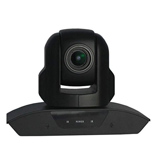 YUTR Cámara Web HD, HD 1080p / 30fps videollamadas giratoria de vídeo de Webcam micrófono Incorporado USB Plug and Play