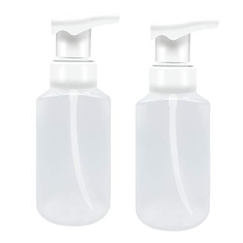 HLPIGF Bomba de Espuma Exprimida VacíA de 180 Ml, Botella de Espuma de JabóN, Dispensador de Envases CosméTicos, Botella de Burbuja de PocióN de PeluqueríA, 2 Piezas