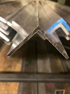 Aluminum Angle 6063 T52 2