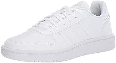 adidas Women's Hoops 2.0 Sneaker, White, 8 M US