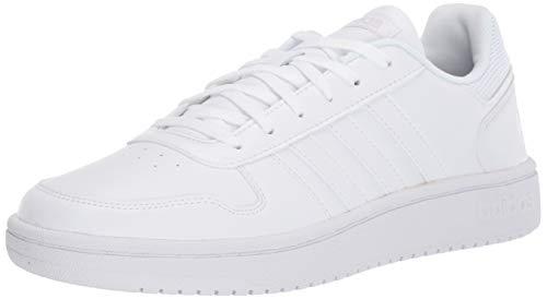 adidas Women's Hoops 2.0 Sneaker, White, 9 M US