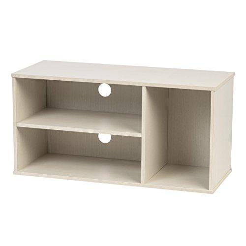 IRIS USA, MDB-3SW, Modular TV Stand Box, White, 1 Pack