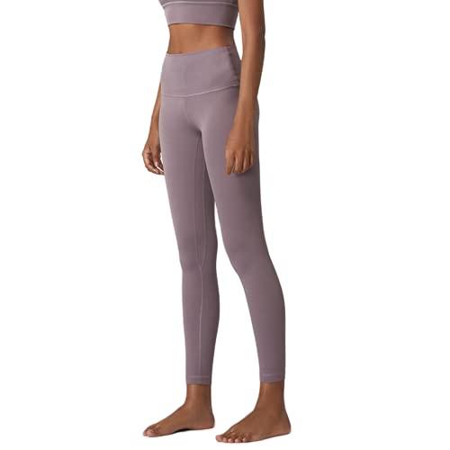 QTJY Pantalones de Yoga Deportivos Delgados sexys para Mujer, Gimnasio con Bolsillos, Leggings de Cintura Alta, Pantalones Deportivos elásticos con Push-up E XL