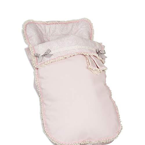 Babyline Colcha Bugaboo Swetly Rosa - Colchoneta para silla de paseo, niñas