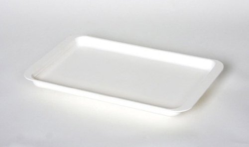 White Plastic Coated Dish Drainer Tray