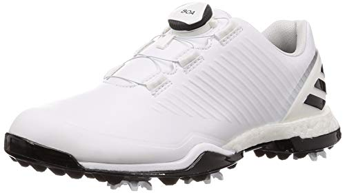 ADIDAS W Adipower 4GED Boa, Zapatillas de Golf para Mujer, Blanco (Blanco/Negro Bb7841), 38 2/3 EU