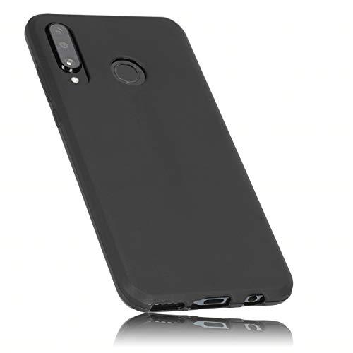 mumbi Hülle kompatibel mit Huawei P30 lite Handy Hülle Handyhülle, schwarz